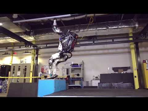 This parkour robot does backflips — and lands them with the grace of an Olympic champion