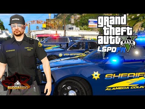 GTA 5 LSPDFR Police Mods◆Alameda County Sheriff Patrol◆Let's Be cops