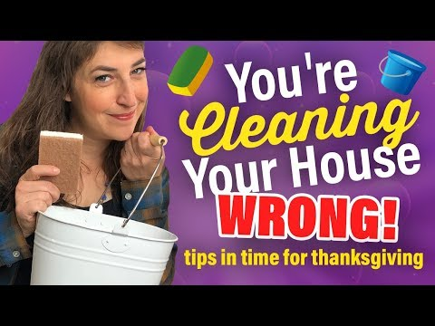 You're Cleaning Your House WRONG! || Mayim Bialik