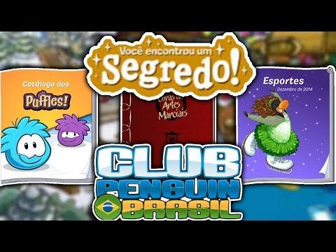 ❓ | SEGREDOS DOS CATÁLOGOS SECUNDÁRIOS! - Club Penguin Brasil