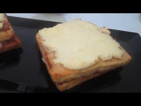 croque-monsieur-façon-pain-perdu-au-jambon-et-vache-qui-rit
