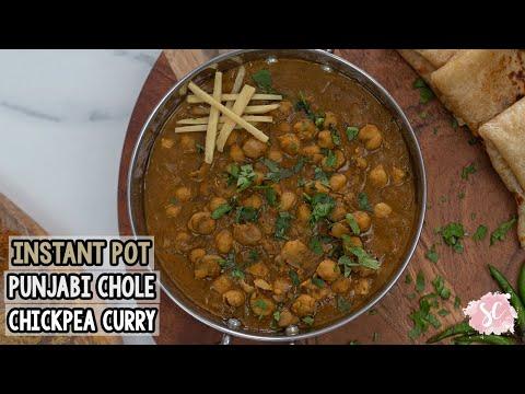 instant-pot-punjabi-chole-(chickpea-curry)-oil-free