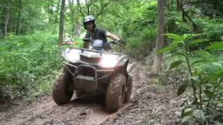 ATV - Quad Bike in mud