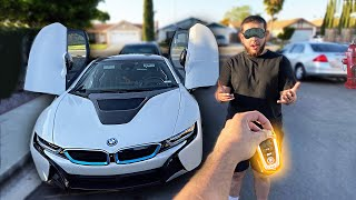 SURPRISING MY LITTLE COUSIN WITH A BMW i8!! *Emotional*