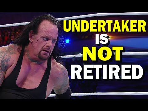 10 Reasons Why The Undertaker Did NOT Retire from WWE at WrestleMania 33