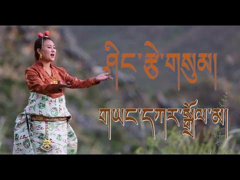 Tibetan dance song 2018 - ཤིང་རྩེ་གསུམ། by Yangkar Dolma