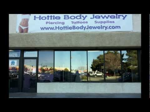 New Hottie Body Jewelry and Tattoo Store in Lancaster, California