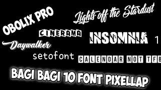 BAGI BAGI 10 FONT KEREN| link the deskripsi 👇
