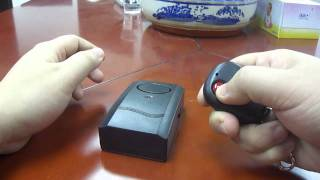 Video Vibration Activated Anti-Theft Alarm with Remote Controller download MP3, 3GP, MP4, WEBM, AVI, FLV November 2018