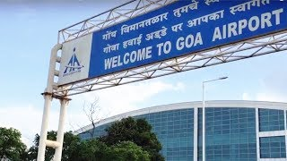 Outside Goa Airport | Tour of Goa International Aiport