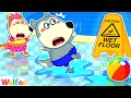 No No Breaking the Pool Rules - Wolfoo Learns Safety Tips for Kids | Wolfoo Family Kids Cartoon