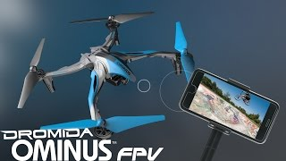 Dromida Ominus FPV UAV Quadcopter Drone RTF w/Camera Video