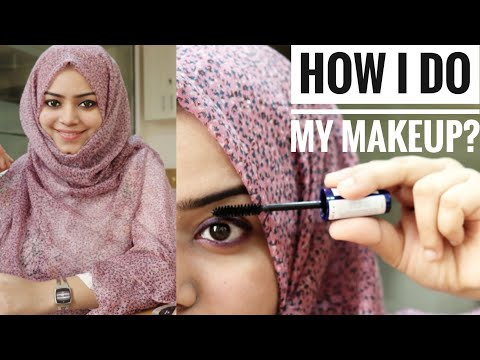 How I Do My Makeup ? / No makeup look /simple makeup tutorial / Simple makeup for hijab / lakme 9-5