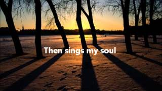 How Great Thou Art (Instrumental) with lyrics