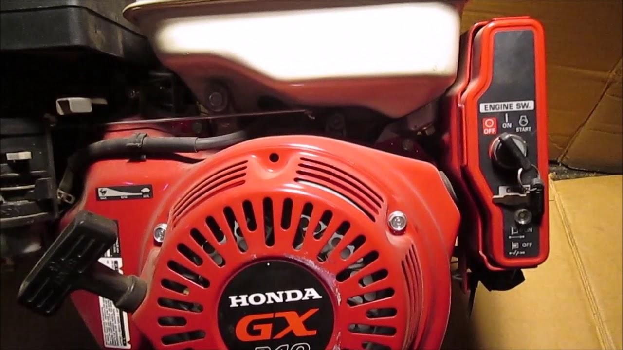 Honda Gx240 Generator