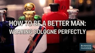 How To Put Oฑ Cologne The Right Way