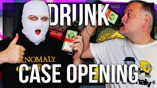 CS:GO DRUNK CASE UNBOXING WITH PAPA