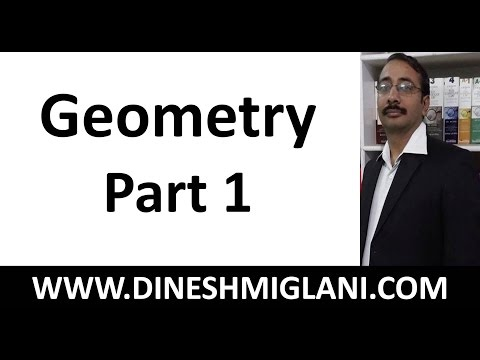 30 Tricky Problems of Geometry for CAT (Part 1) by Dinesh Miglani