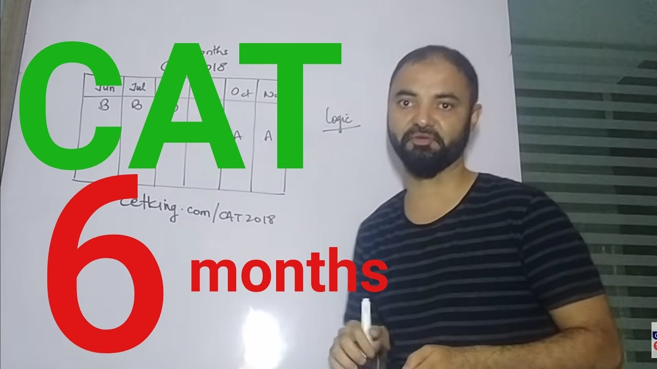 6 Months To Cat 2018 Strategy Planning Workshop Youtube