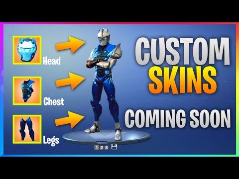 *NEW* CUSTOM SKINS Coming Soon! *ALL Current Leaks* (Fortnite Battle Royale) Skins, Emotes