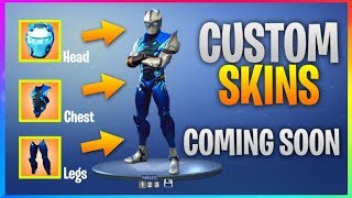 *NEW* CUSTOM SKINS Coming Soon! *ALL Current Leaks* (Fortnite Battle Royale) Skins, Emotes