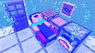 КАК ВЫЖИТЬ НУБУ ПОД ВОДОЙ В Майнкрафте! Minecraft Мультики Майнкрафт троллинг Нуб и Про