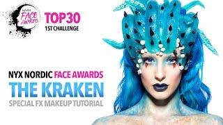 NYX Nordic Face Awards Top 30 Challenge - The Kraken