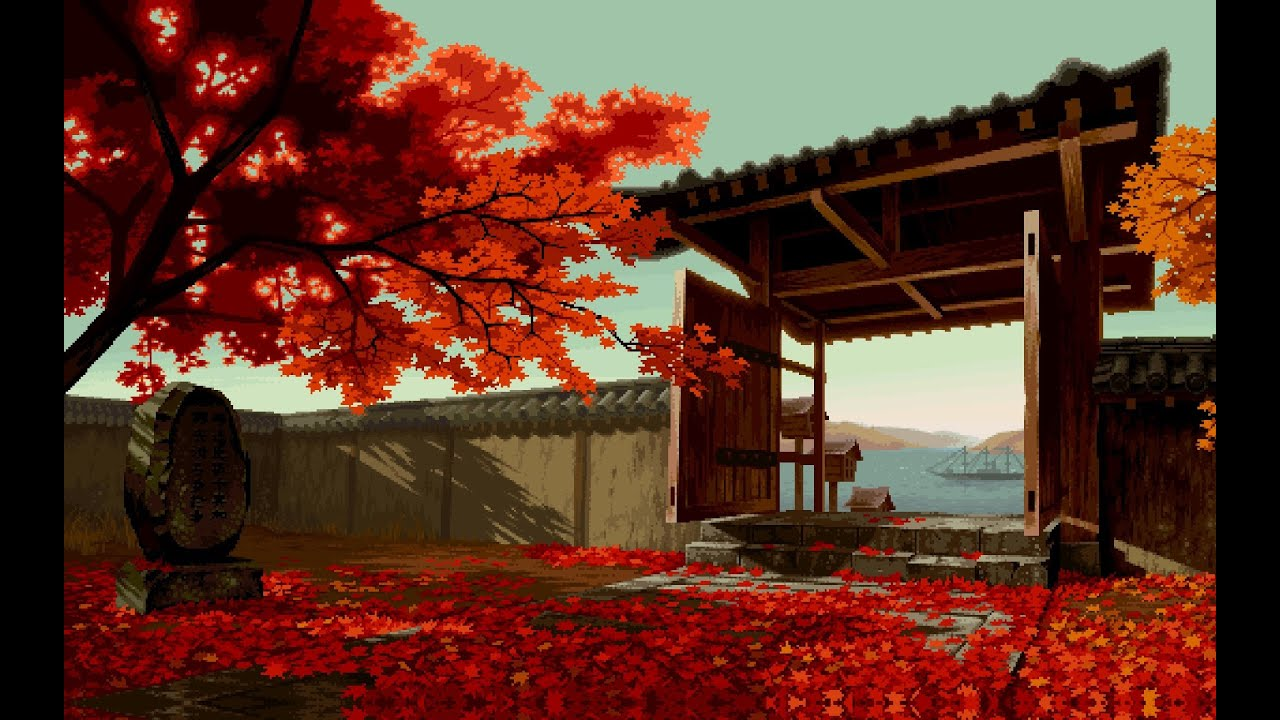 Live Moving Fall Wallpaper For Pc 8 Bit Autumn 8 Bit Relax Chiptune Youtube