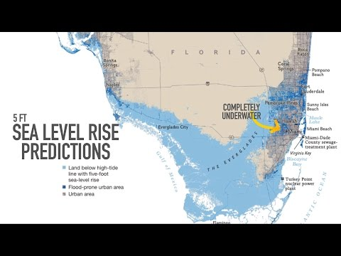Miami may be underwater by 2100