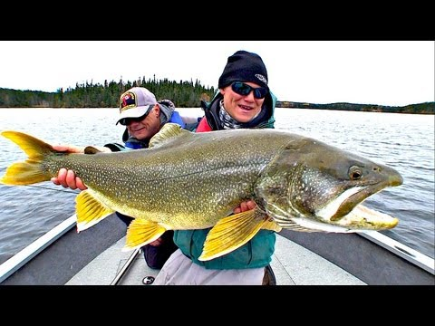 """Casting Super Shallow Lake Trout"" Full Length (TV Show 8) - Uncut Angling - April 1, 2013"