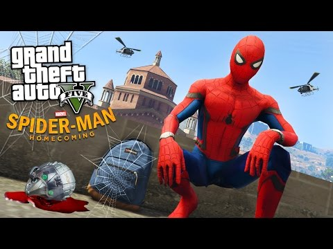 SPIDER-MAN: HOMECOMING!! (GTA 5 Mods)