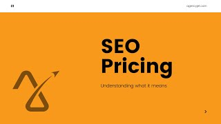 SEO Pricing: Understanding What It Means