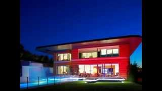 Ultra Modern Homes - Modern House Design With Extreme House Painting and Lighting