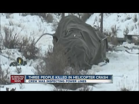 3 killed in helicopter crash near Silt