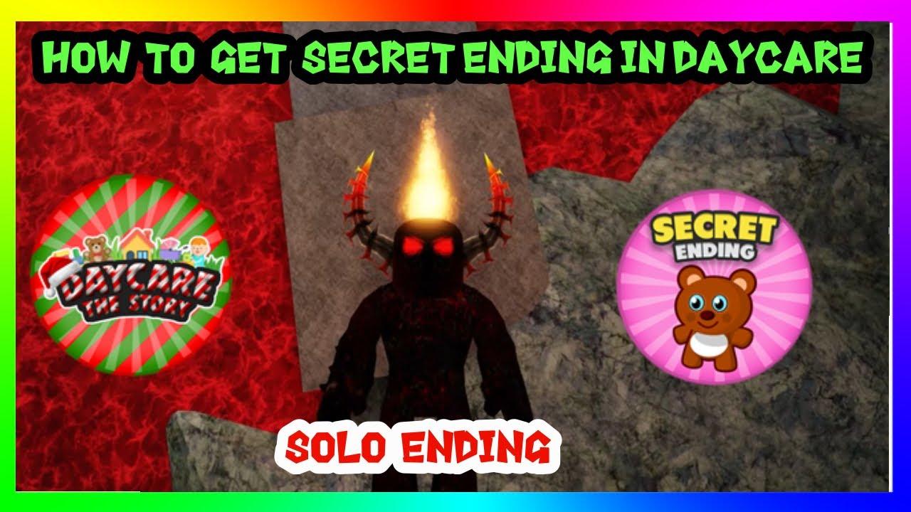 Roblox Daycare 2 Story Secret Ending Roblox Daycare Story How To Get Secret Ending Solo Ending Youtube