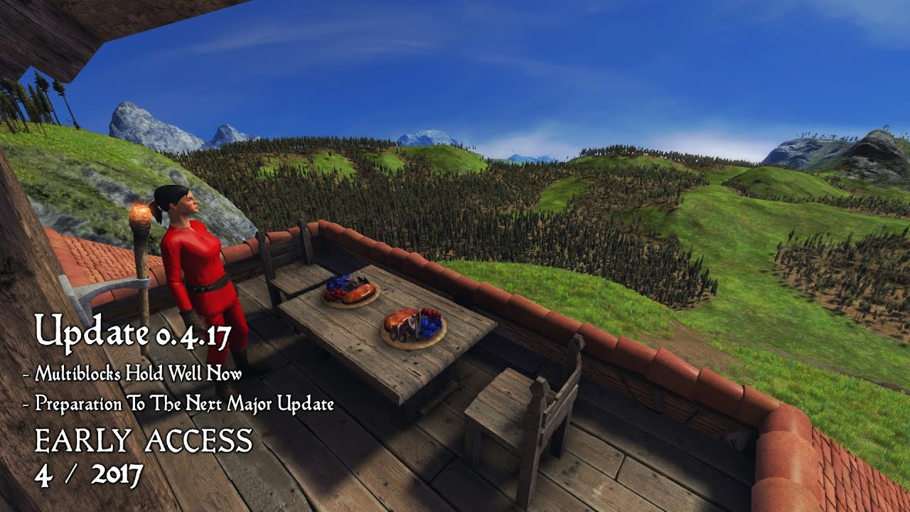 Medieval Engineers Update 0417 Simple Improvements