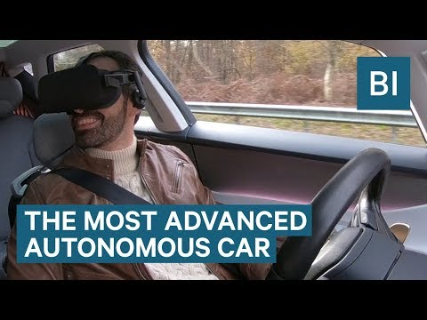 This Is The World's Most Advanced Self-Driving Car