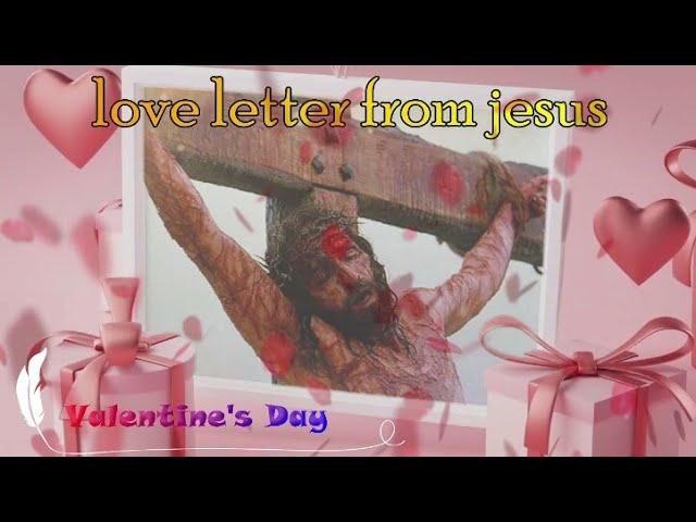 Love Letter From Jesus |இயேசுவிடம் இருந்து காதல் கடிதம்| Valentine's Day status | raghul message LCM
