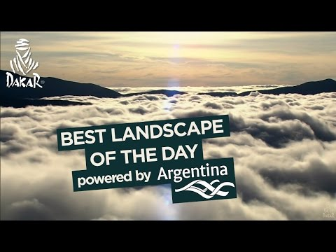 Stage 9 - Landscape of the day; powered by Argentina