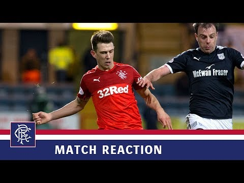 REACTION | Ryan Jack | Dundee 2-1 Rangers