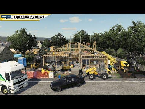 Assainissement Manutention Travaux publics | Farming Simulator 19