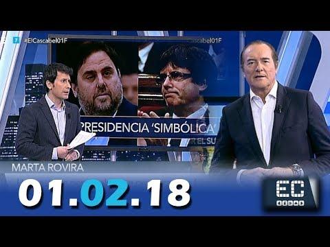 El Cascabel 13tv 01.02.18 Gonzalo de Bernardos. Presidencia Simbólica. Pablo Hasel.  Neumáticos ITV