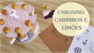 Baixar UNBOXING Loja Carimbos e Limões
