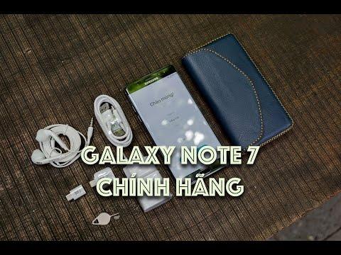 Tinhte.vn - Trên tay Note 7 chính hãng