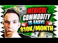 How To Make $10,000 Per Month Flipping Medical Commodities