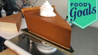 Pumpkin Pie Slice Cake | Food Network