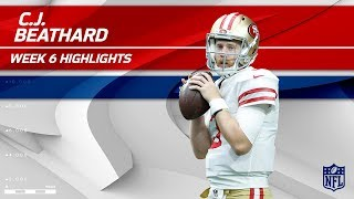 C.J. Beathard's Gritty Effort w/ 245 Yards & 1 TD! | 49ers vs. Redskins | Wk 6 Player Highlights