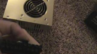 How to hook up a car amplifier in your home.