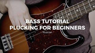 Bass Tutorial - Plucking For Beginners
