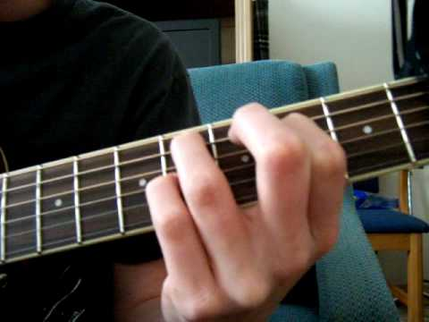 How to play Broken by Secondhand Serenade